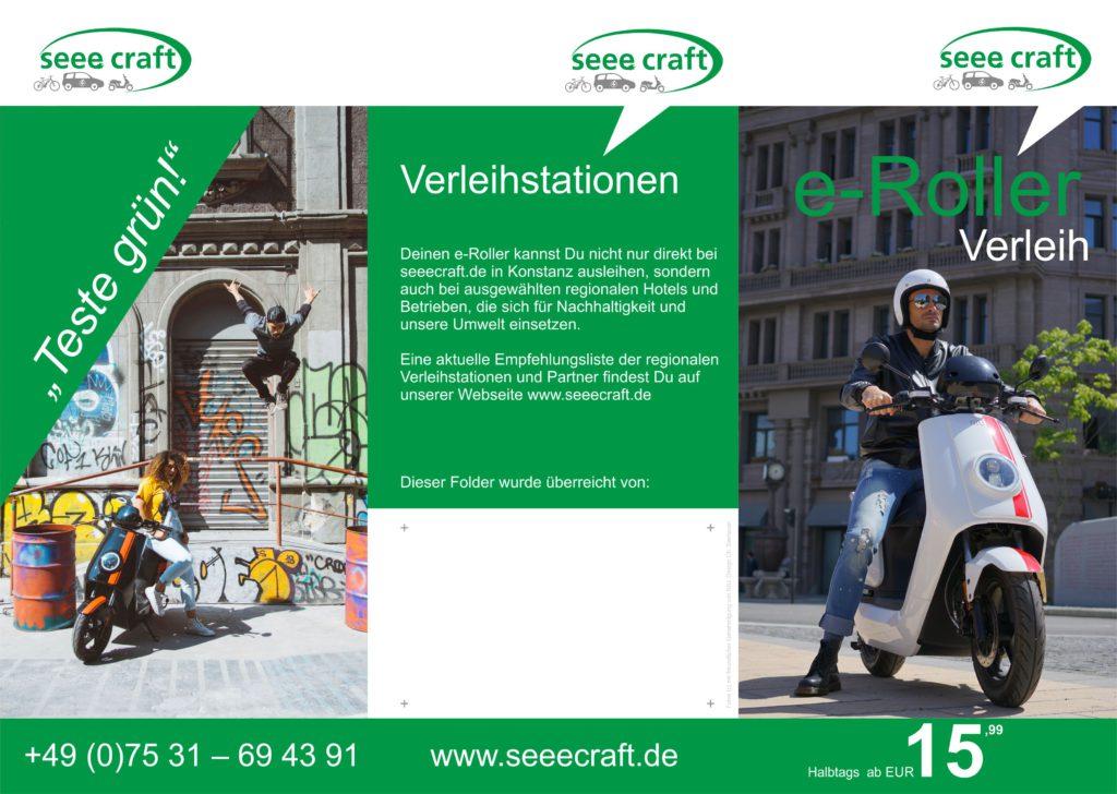 E-Roller Verleih Konstanz, Seeecraft